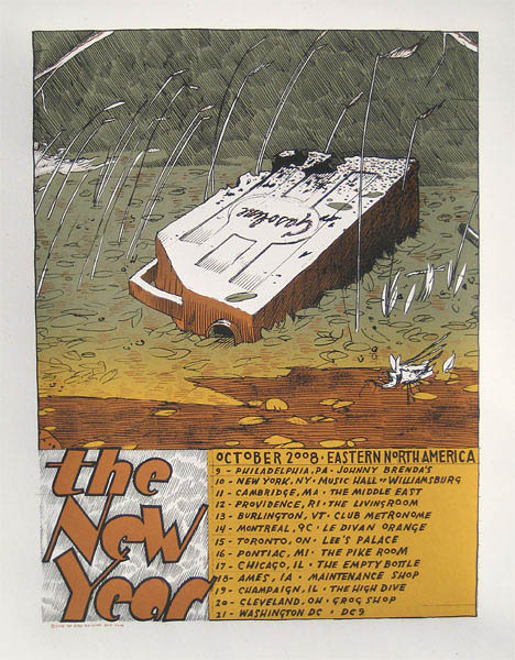 2008 Eastern US Poster