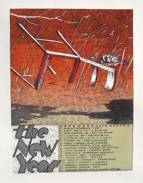 2008 European Poster